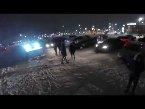 Automotive Business School of Canada Drifting 2017, First Snow Fall