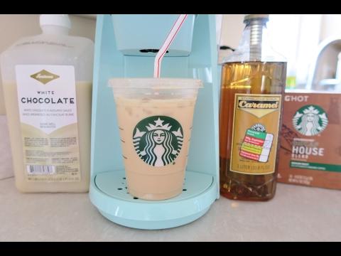 Iced Caramel White Mocha Recipe