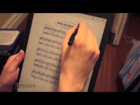 Good e-Reader 13.3 inch can read and edit sheet music