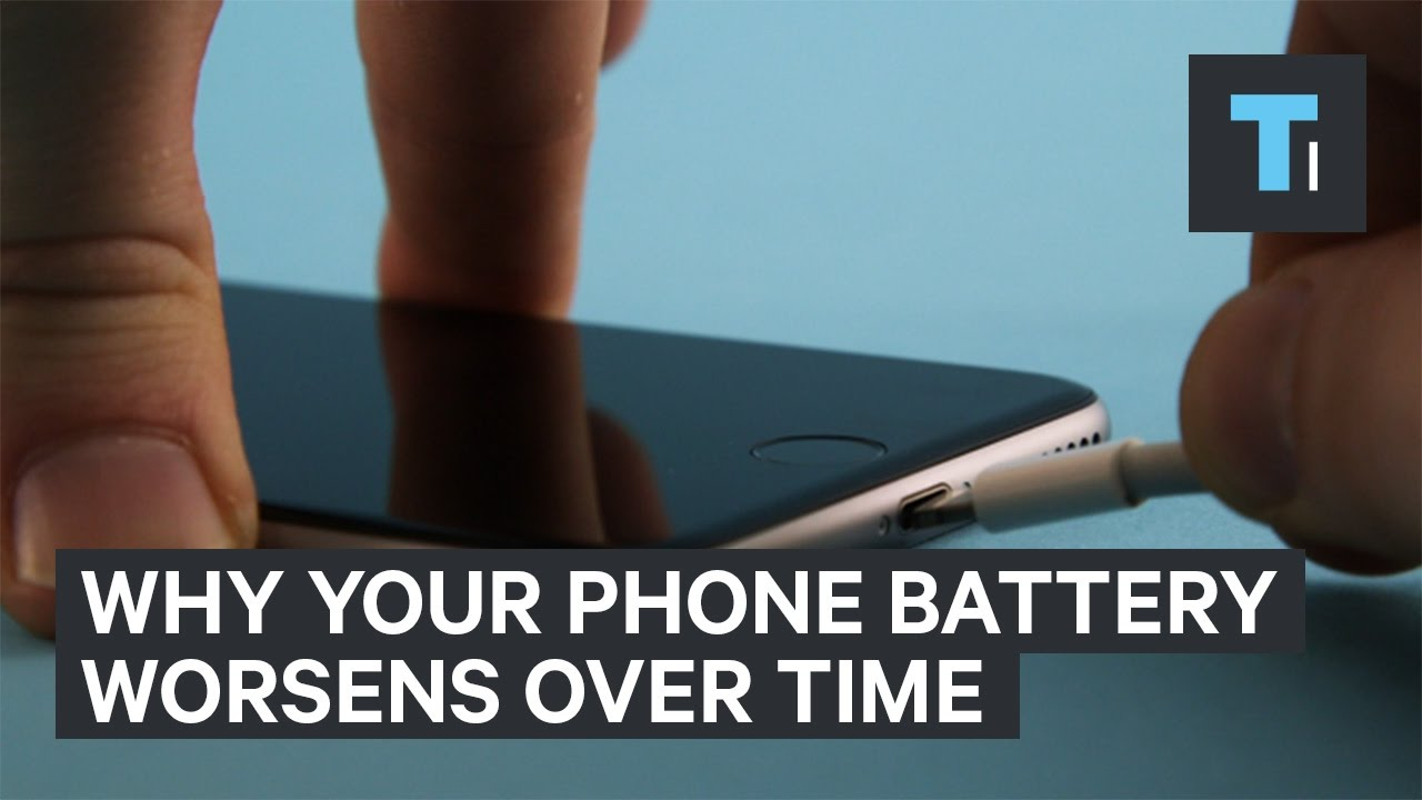 Why your phone battery gets worse with time