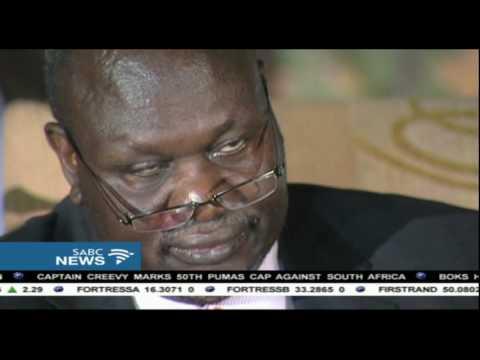 Riek Machar has fled South Sudan