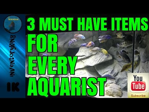 Time Saving Tips | 3 Must Have Items For Every African Cichlid Aquarist | Fish Keeper
