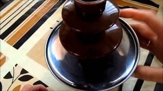 Детский домашний шоколадный фонтан фондю(, 2014-05-10T20:42:31.000Z)