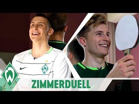 ZIMMERDUELL: Maximilian Eggestein & Johannes Eggestein | SV Werder Bremen