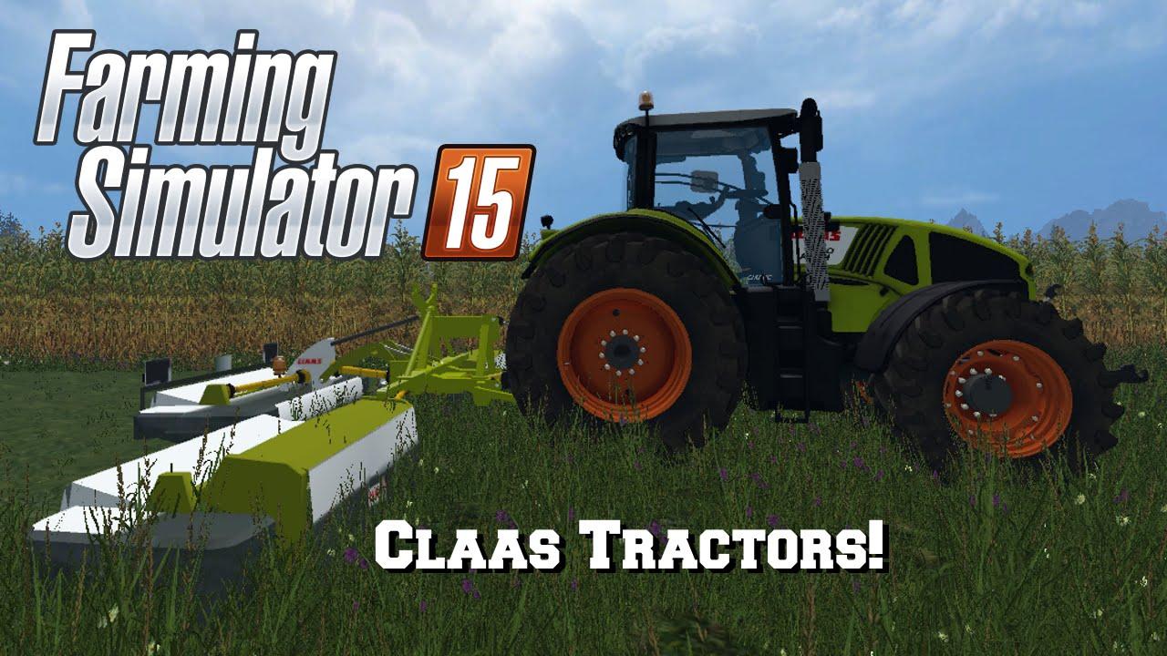 farming simulator 2015 mod spotlight 29 claas tractors. Black Bedroom Furniture Sets. Home Design Ideas