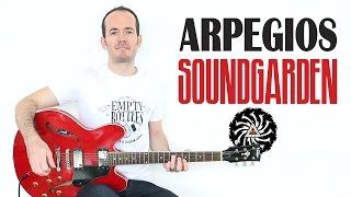 Cómo tocar Arpegios Fáciles Estilo Grunge Soundgarden - Guitarra eléctrica