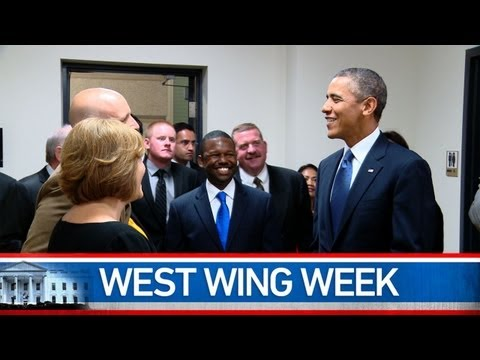 """West Wing Week 9/20/13 or,  """"Every Moment of Every Day"""""""