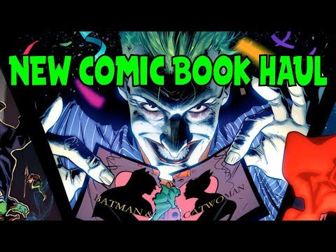 New Comic Book Haul May 2 2018
