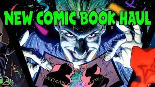 New Comic Book Haul May 2 2018