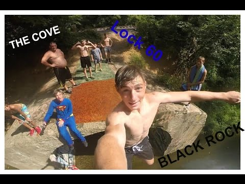 3 AMAZING bridge/cliff JUMP SPOTS in 1 DAY! | The Cove, Lock