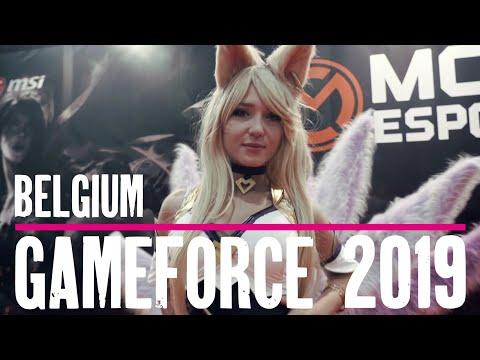 Exploring Belgium - Gameforce 2019 (Biggest Gaming Event in Benelux)
