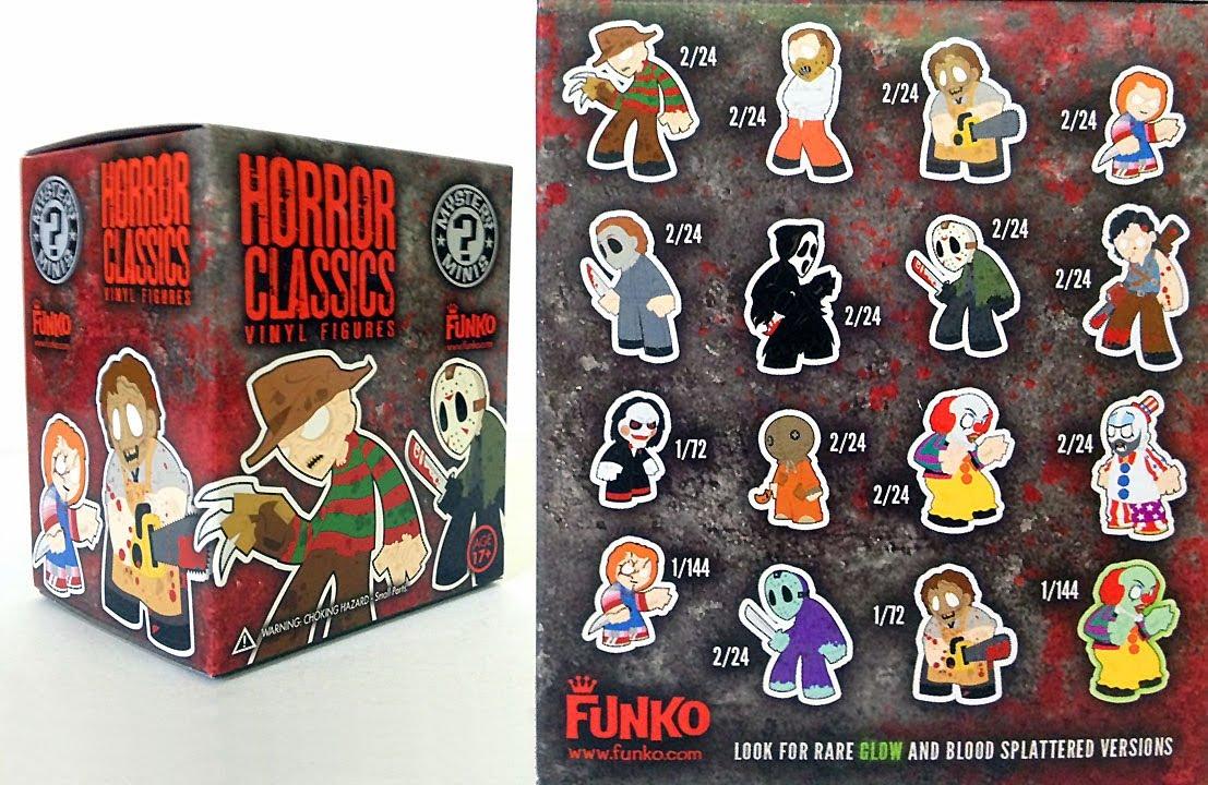Funko Horror Classics Mystery Minis Vinyl Figures Blind