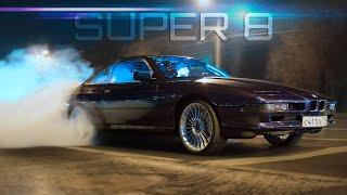 Первый выезд 800+ л.с. BMW Super8. Дым без огня?