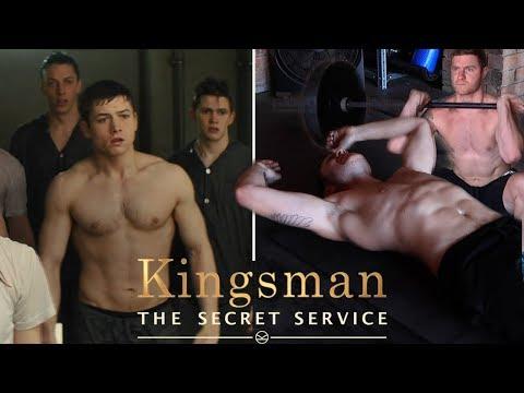I Tried Taron Egerton's Kingsman's The Secret Service Workout