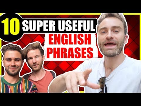 YouTubers TEACH YOU 10 English Expressions