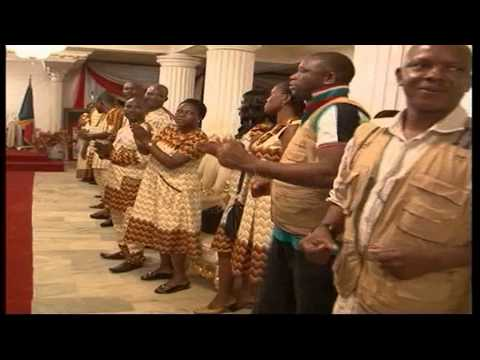 Board, management. and staff of ITV/Radio felicitate with Esama of Benin at 80