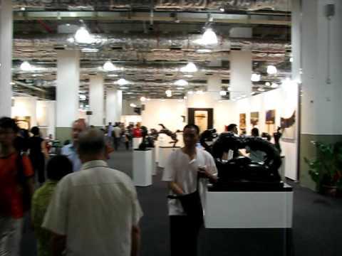 Shanghai Art Fair 2008 - Latin American Pavilion LAP - Trazos Gallery