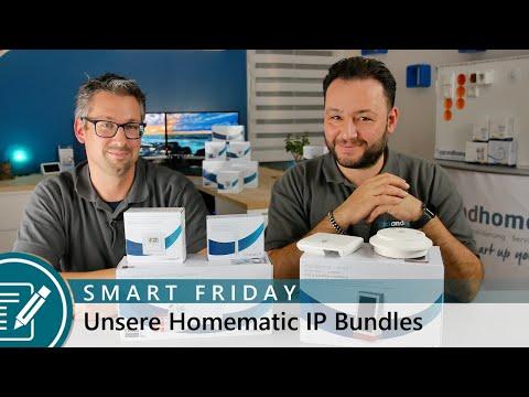 SMART FRIDAY - Unsere Homematic IP Bundles