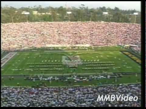 1997 Rose Bowl Trip Halftime Performance (1998 Rose Bowl)