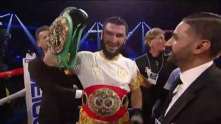 Beterbiev Knockouts Gvozdyk in the 10th to Win 2nd Title | Highlights
