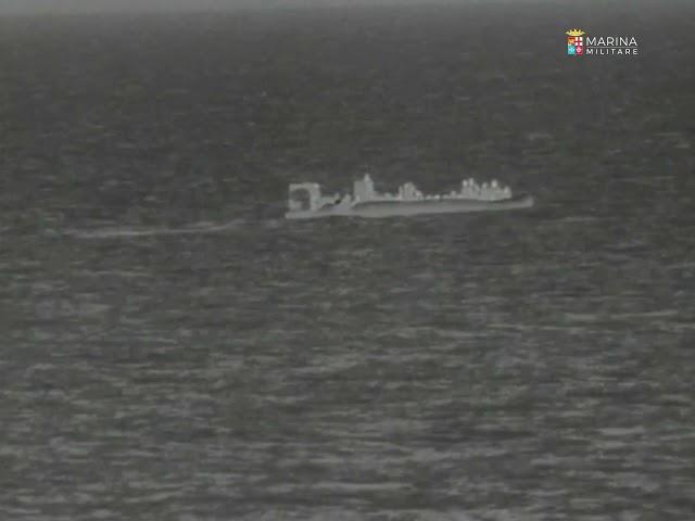 Marina Militare per Oraquadra. La Nave Comandante Foscari salva 49 persone a largo di Tripoli - 1