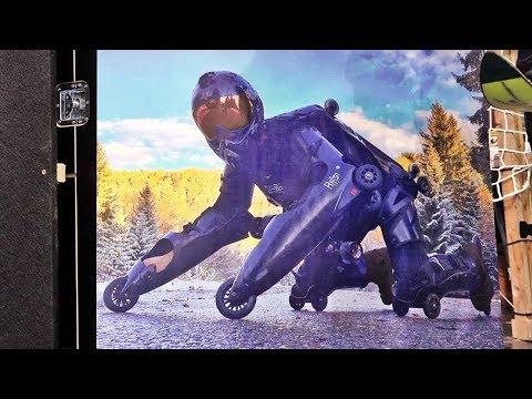 ISPO Close ups 28: Rollerman-Montur von Jean-Yves Blondeau