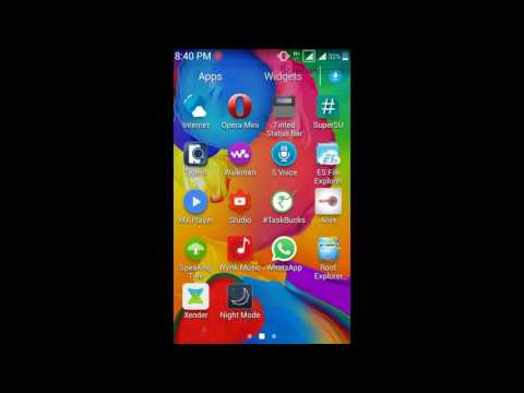 Record the Screen of Samsung galaxy s duos 2 GT S7582