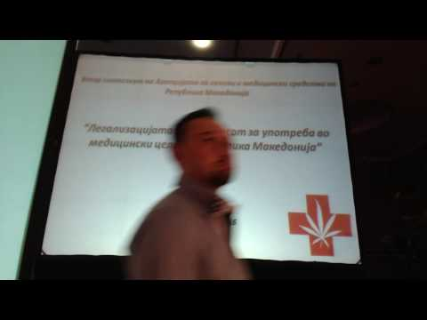 Legalization of cannabis for medicinal purposes in Macedonia - Symposium