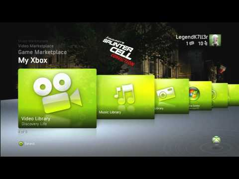 Splinter Cell: Conviction - UPlay Theme [ HD ]