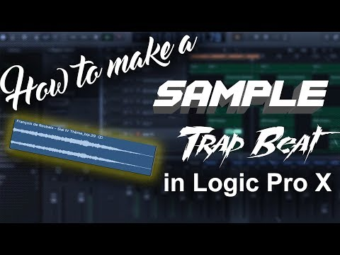 How to make a sample trap beat in Logic Pro X | Beat Maker Tutorials