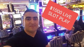 🔴Live HANDPAY JACKPOT on NEW BUFFALO MAX SLOT  w/NG  | LAS VEGAS | The Cosmopolitan Casino