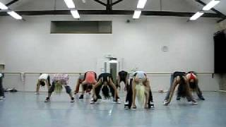 'all that jazz' burlesque / caberet dance class with Jasmine Meakin