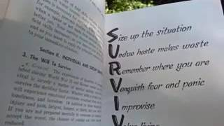 "The ""R"" in SURVIVAL - US Army Survival Field Manual FM 21-76 - The Art of Prepping"