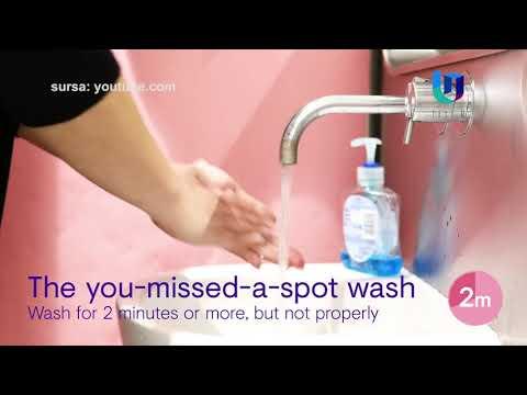 Spălatul corect pe mâini