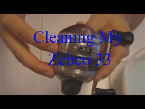 Cleaning My Zebco 33