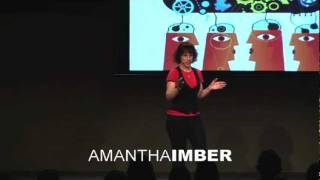 TEDxMelbourne - Amantha Imber - Accessing your creative genius