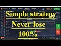 Iq option Simple strategy with 2 indicator stochastic + parabolic Never lose