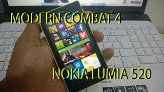 Modern Combat 4 pra 512 RAM Windows Phone 8 Português!