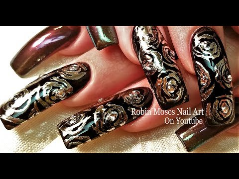 Nail Art: Elegant and Gorgeous Mirror Nails Design Tutorial