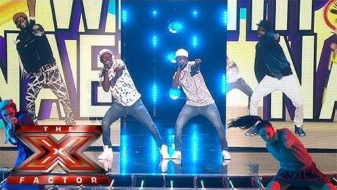 watch reggie n bollie whip watch them nae nae  live week 5  the x factor 2015