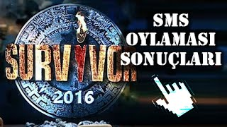 Survivor 28 Haziran 2016 SMS Oylaması Sonuçları 28 Haziran Survivor 2016 Kim Elendi