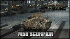 World of Tanks - Live: M56 Scorpion - Premium [ deutsch | gameplay ]