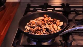 Coconut Milk Tofu Quiche With Onion & Mushroom : Gourmet Vegetable Recipes
