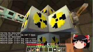 【Minecraft】科学の力使いまくって隠居生活 Part16【ゆっくり実況】