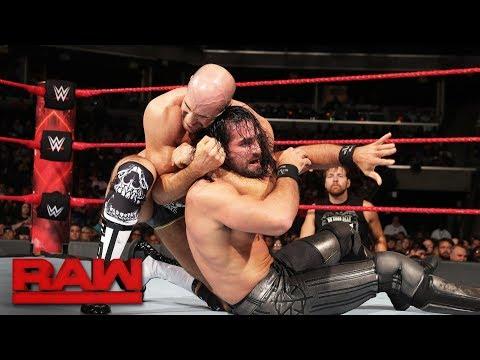 Seth Rollins vs. Cesaro: Raw, Aug. 28, 2017