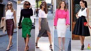 Модные юбки весна-лето 2018 фото новинки, тенденции, тренды