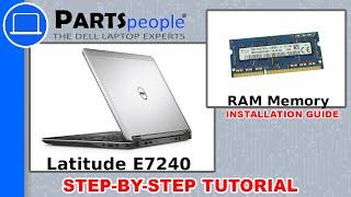 Dell Latitude E7240 RAM Memory How-To Video Tutorial