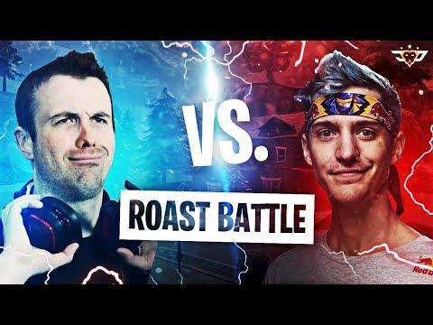 NINJA VS LUPO! THE ROAST BATTLE! (Fortnite: Battle Royale)