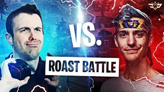 NINJA VS LUPO! THE ROAST BATTLE! (Fortnite: Battle Royale)