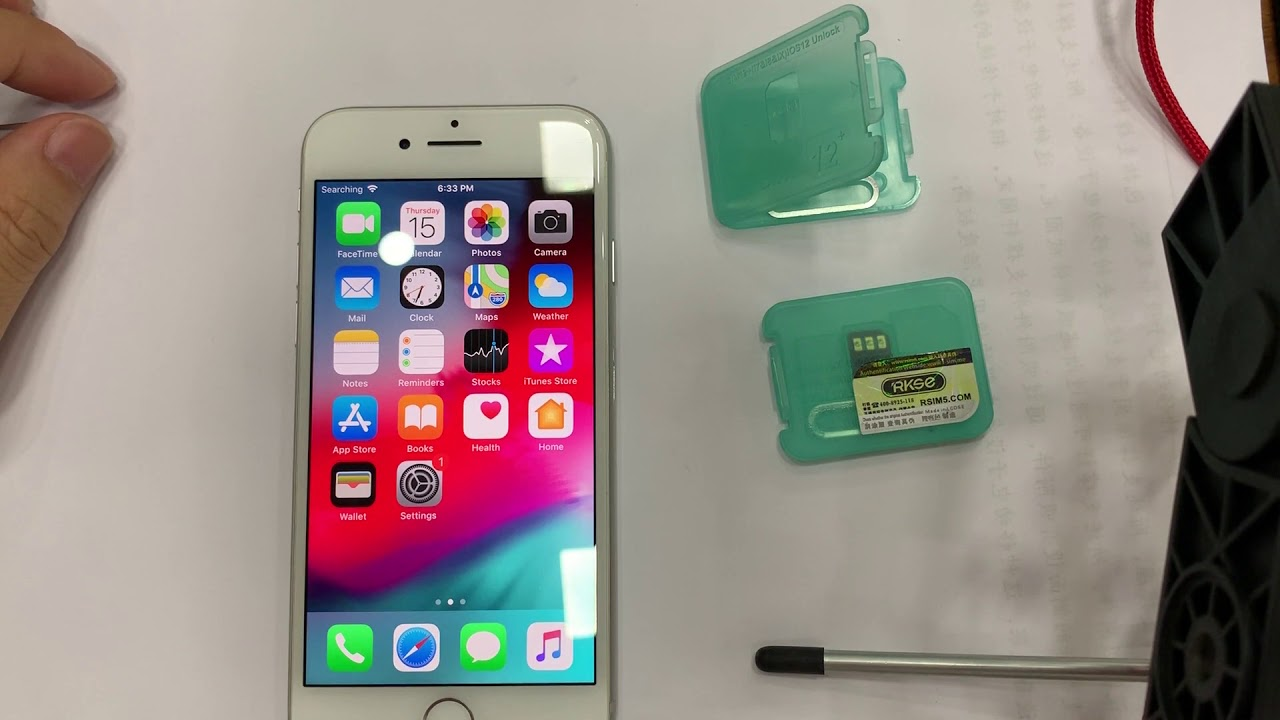 How to use R-SIM12 V16 RSIM14 V18 Mai TMSI MAUNAL unlock for iphone ios12 4